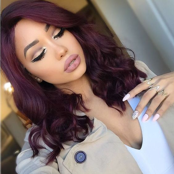 Lace Frontal Wigs Red Hair Red Ombre Lace Front Wig Brown Lolita Wig Mushroom Haircut Female Bob Cut For Women Free Shipping
