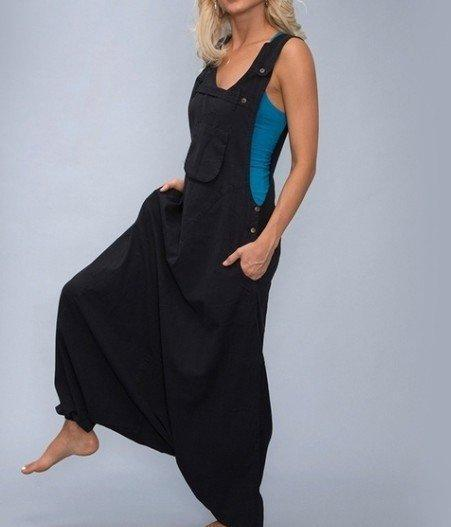 Women Solid Pockets Casual Spaghetti-Strap Jumpsuits