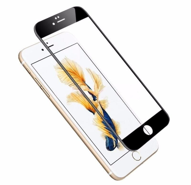 3PCS Full Cover Screen Protector Tempered Glass For iPhone x 6 6S Plus 6Plus 6sPlus 7 8 plus Toughened Glass Protective Explosion Proof Film