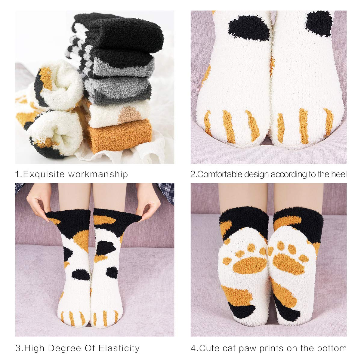 Cute Cat Cotton Socks 🔥BUY 2 GET 1 FREE🔥