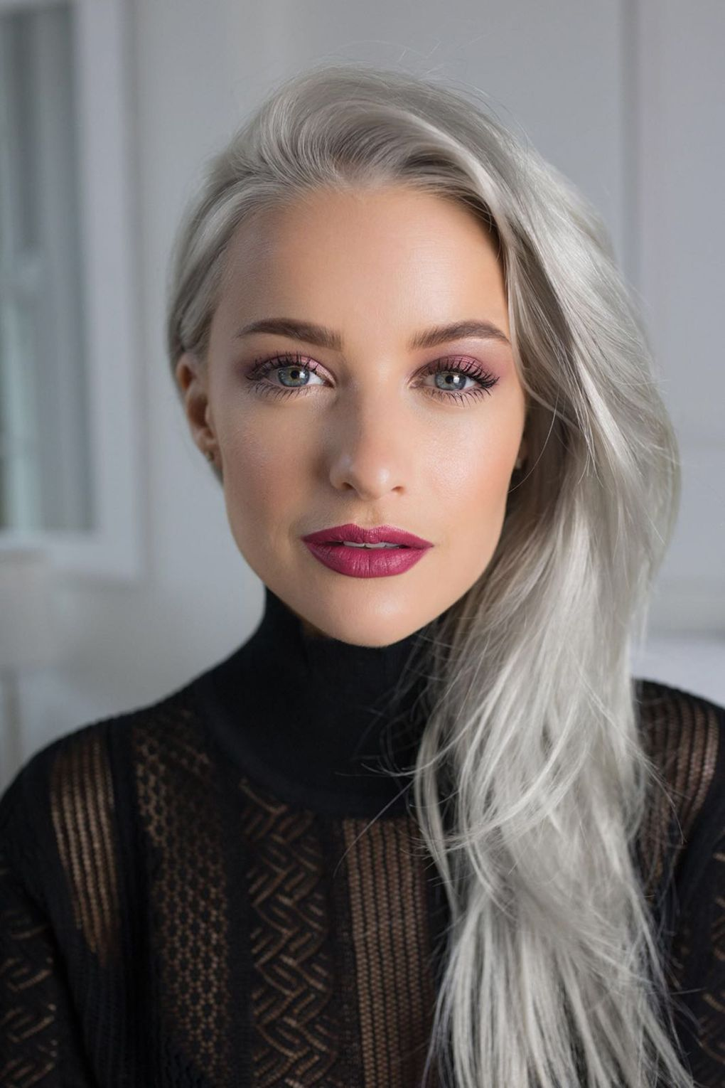 2020 New Gray Hair Wigs For African American Women Platinum Blonde Bob Smoky Grey Hair Best Professional Hair Color To Cover Gray 24 Inch Wig Silver Gray Hair Color
