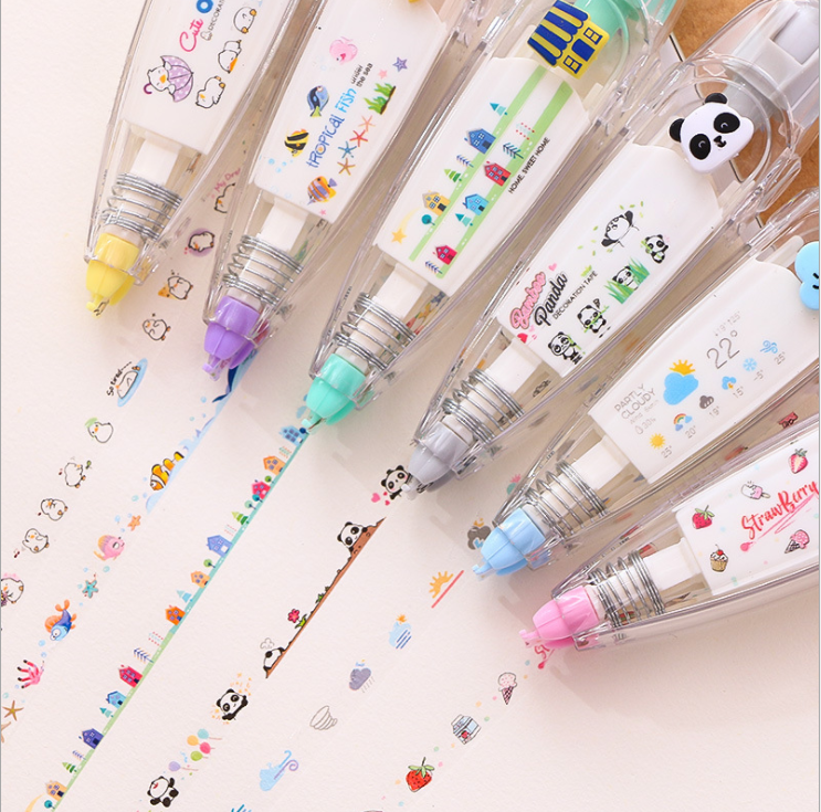 Cute Decorative Tape Pen(50% OFF Only Today)