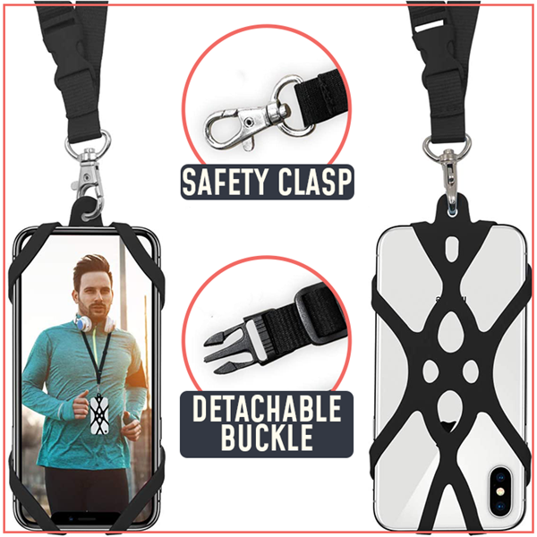 Limited 50%OFF - Flexible Phone Security Neck Strap