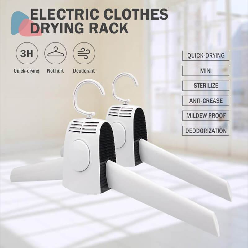 (Christmas promotion-50% OFF)Multifunction Electric Clothes Drying Rack