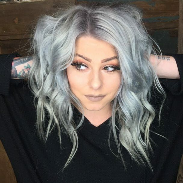 2021 New Lace Front Wigs Wig Pink Silver Hair With Lowlights Red To Grey Hair