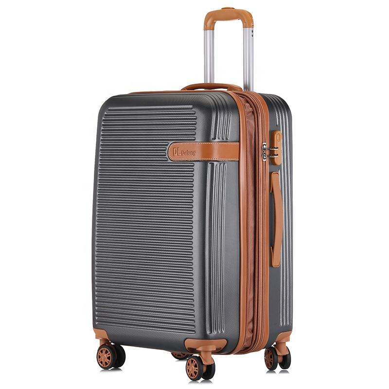 Gear Up  ABS PC valise travel set customized smart luggage roller bag-1.9