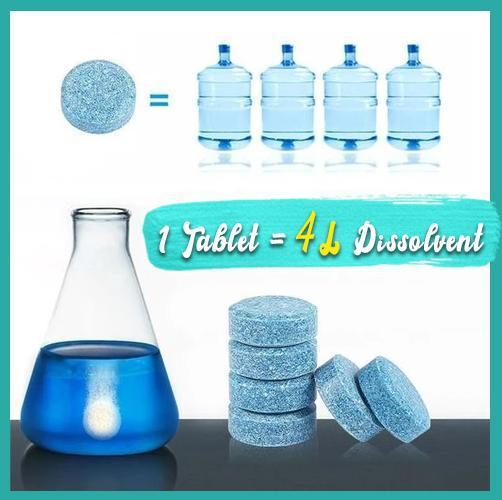 ALL-IN-ONE Effervescent Cleaner Set,Multi-functional  Spray Cleaner