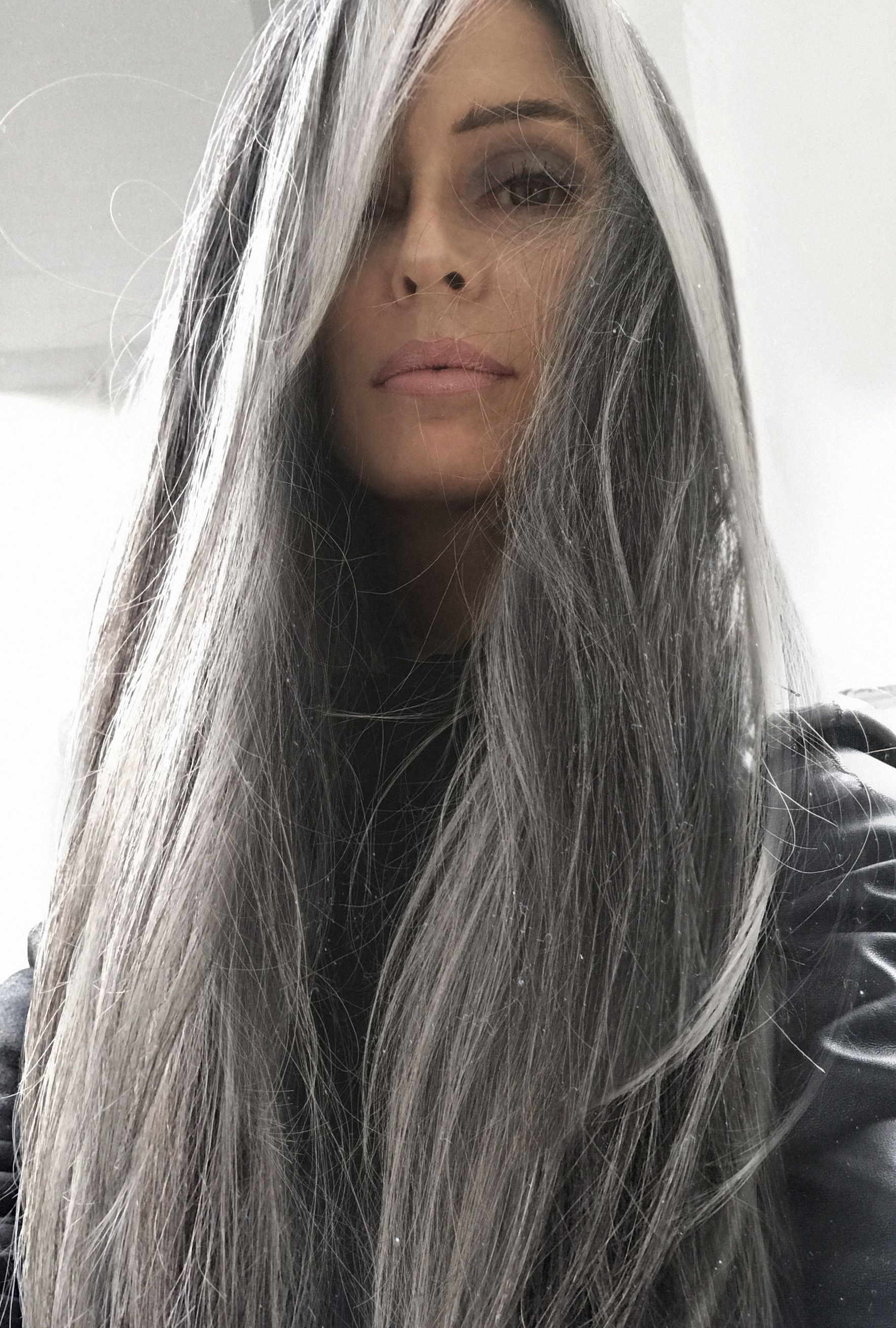2020 New Gray Hair Wigs For African American Women Growing Out Gray Hair Smokey Grey Hair Colour Best Semi Permanent Hair Color To Cover Gray For African American Hair Cheap Curly Wigs Wigs That Look Real
