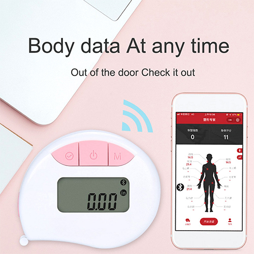 Smart Tape Measure Body with App