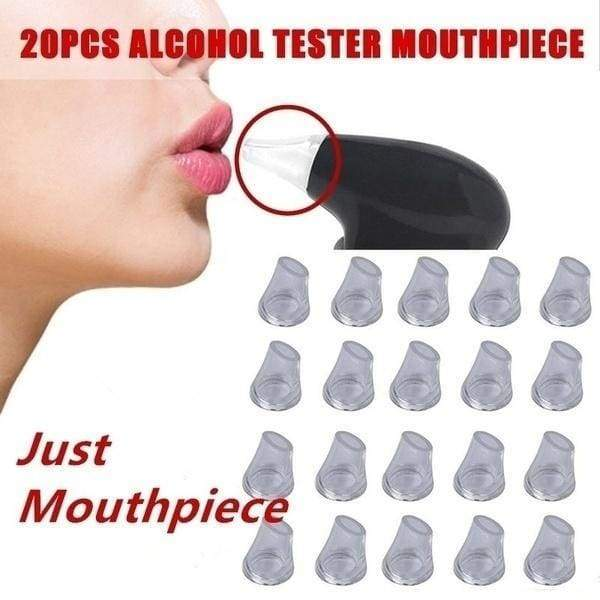 Digital Breath Alcohol Tester Breathalyzer Mouthpieces Blowing Nozzle for Keychain Alcohol Tester Mouthpieces