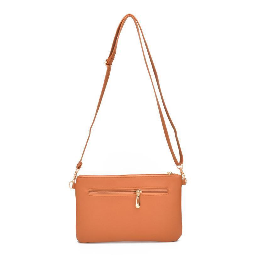 Woman Envelope Zipper Crossbody Bag