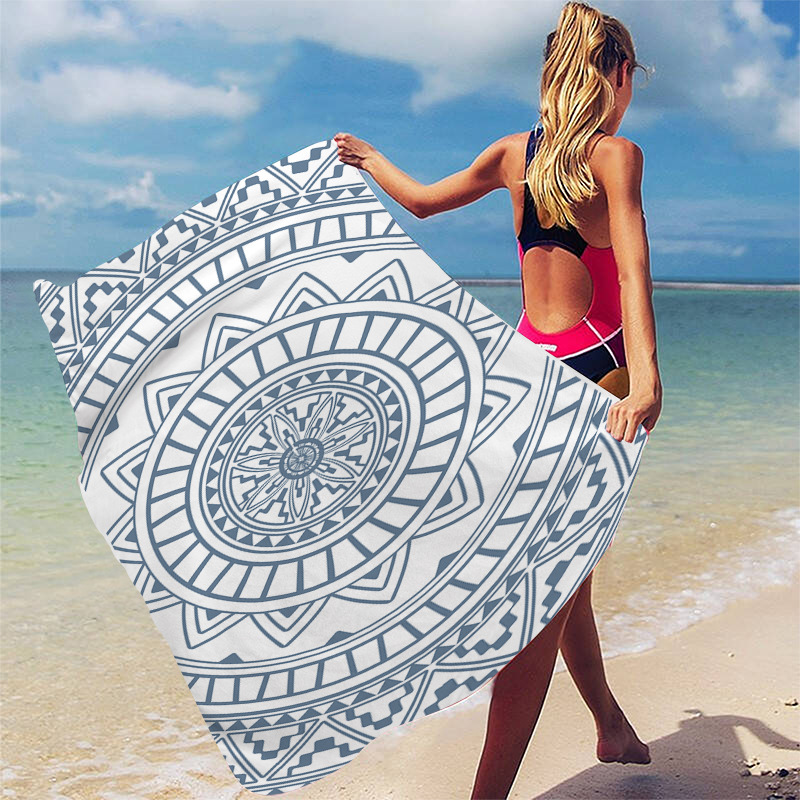 (Last Day Promotion 60% OFF) Sand Free Travel Beach Towel Blanket