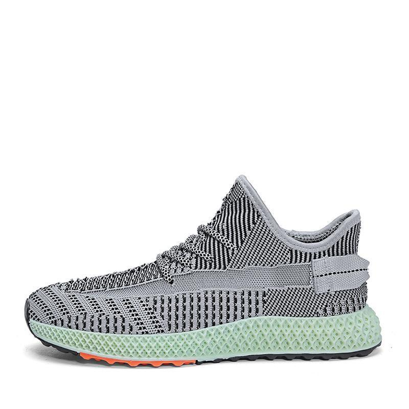 British branded fly knit shoes in 2019