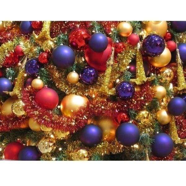 12/24pcs Lot Christmas Tree Decor Ball Bauble Xmas Party Hanging Ball Ornament Decorations for Home Christmas Decorations Gift