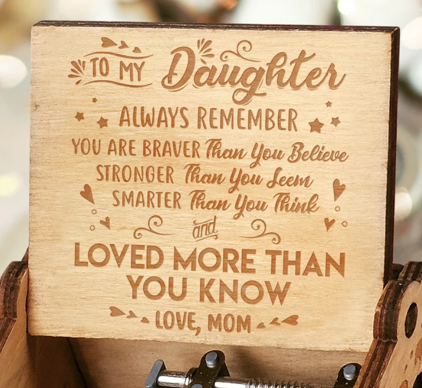You Are Loved More Than You Know - Gift for Daughter