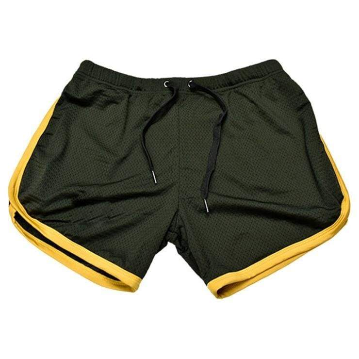 European and American men's summer leisure sports fitness shorts running jogging pants beach shorts muscle male