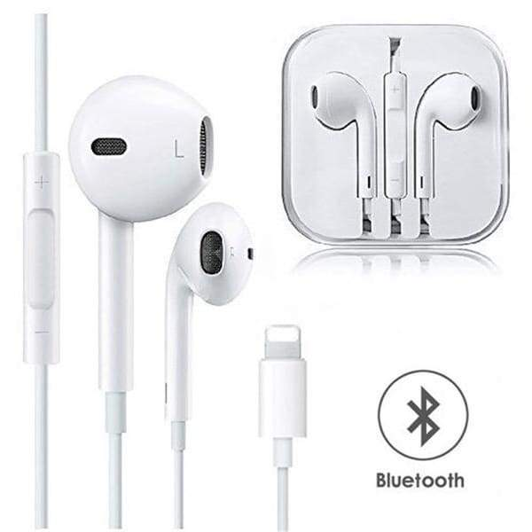 In Ear Headphones Wired Bluetooth Earphone For Apple Iphone X Xr Xs Ma Nicerin Best Goods Free Shipping