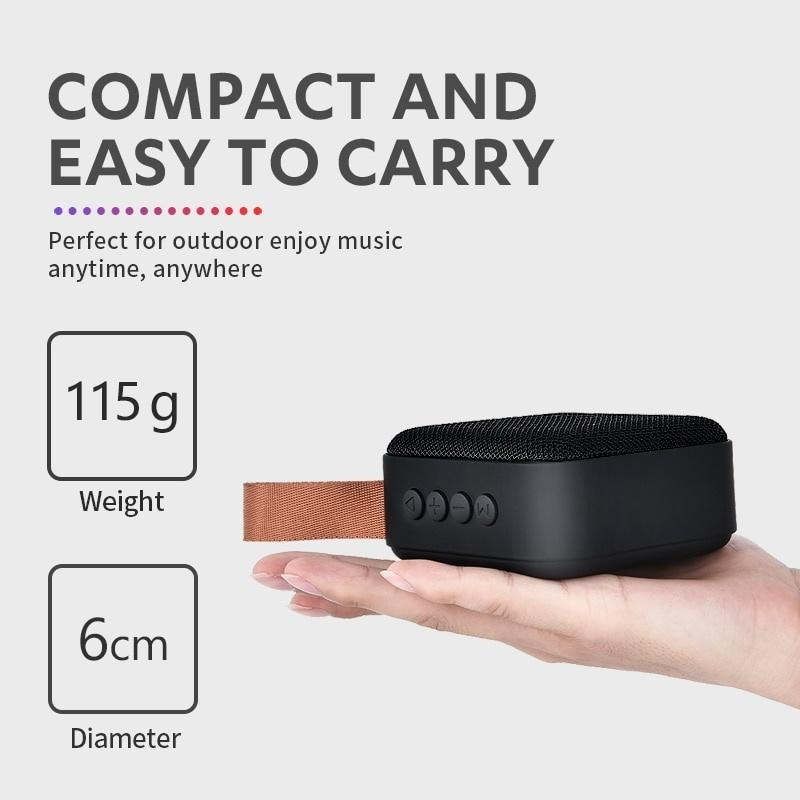 Portable Bluetooth V4.2 Speaker Mini Wireless Loudspeaker Sound System 10W Stereo Music Surround Outdoor Speaker Support FM TFCard