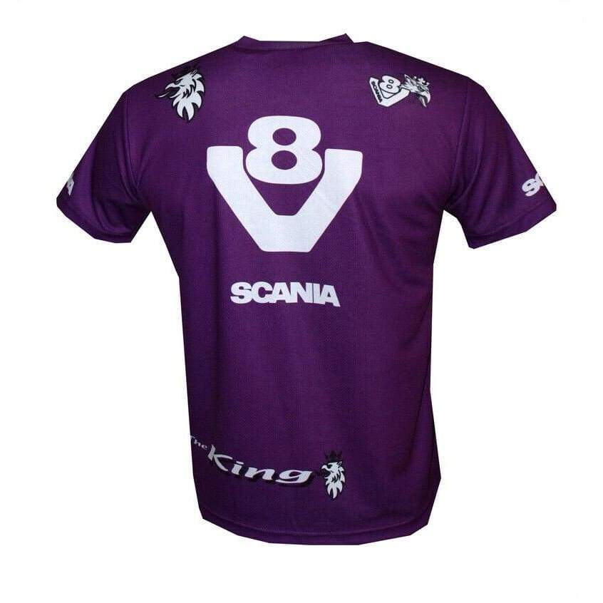 Details About Scania V8 Men Women New Arrival Clothing Round Neck Tee Top