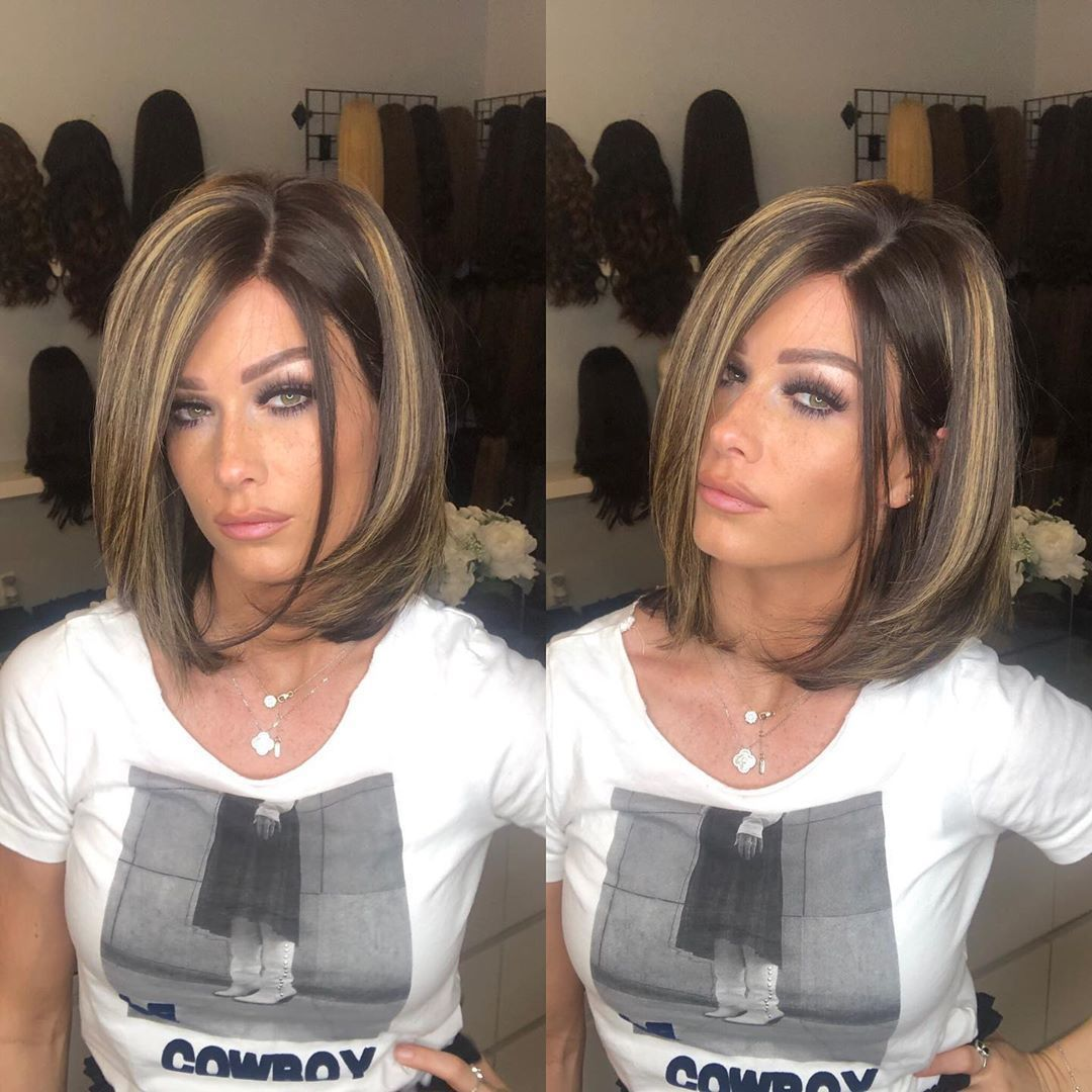 Ash Blonde Wigs For Women Garnier Olia 112 Blonde Bob Wig With Dark Roots Et Blonde Wig Brown Hair To Blonde Hair Blonde Braided Wig Lace Frontal Wigs Free Shipping 715