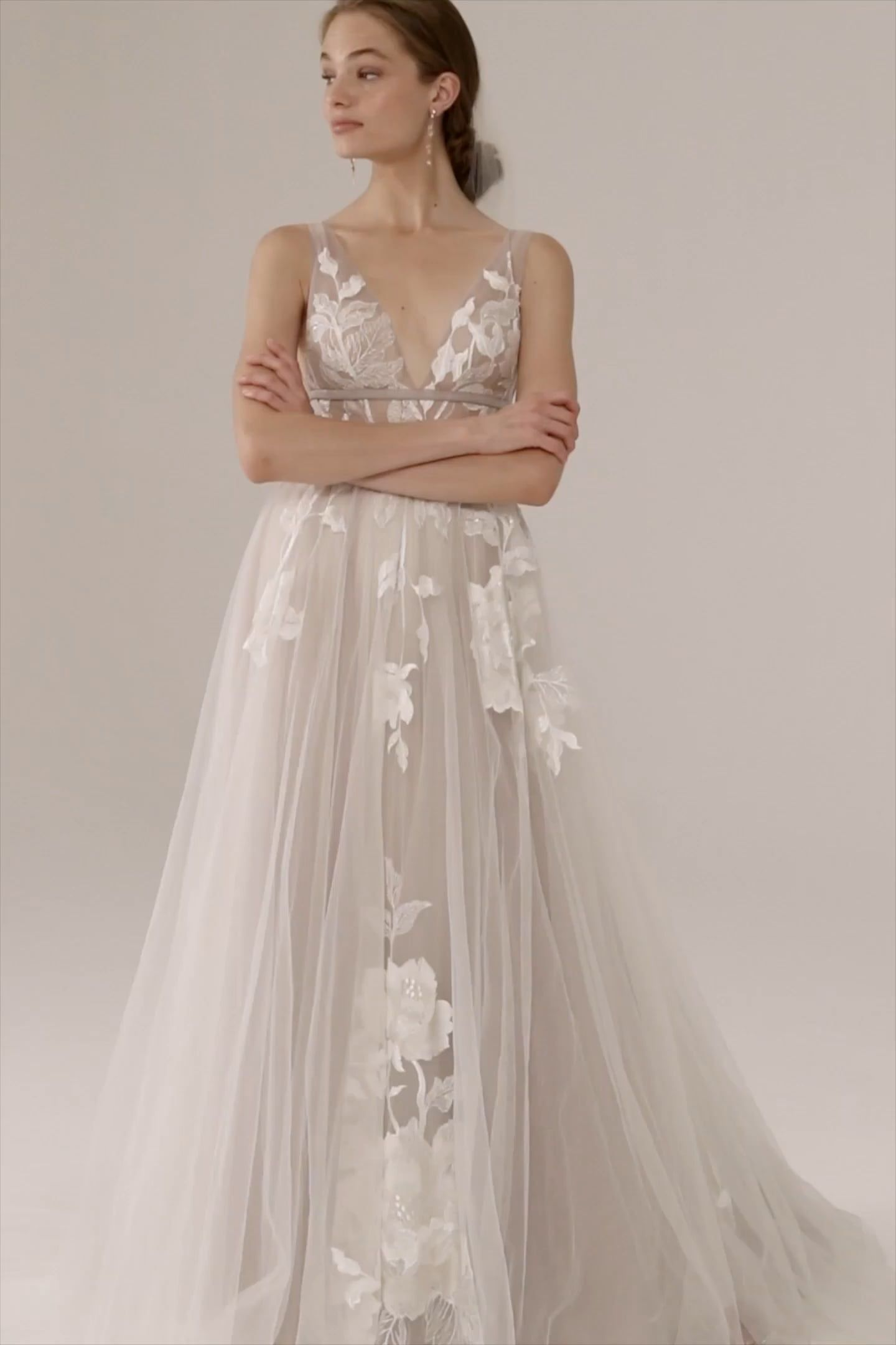 2020 New Wedding Dress Fashion Dress pakistani bridal dresses with prices backless formal gown