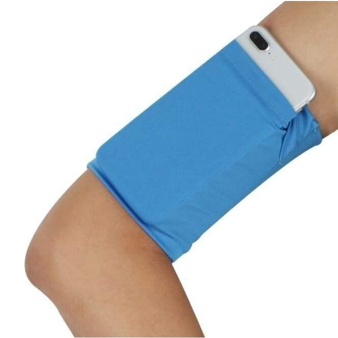 Outdoor Fitness for Men and Women Mobile Phone Arm Bag Sports Elastic Arm with Running Mobile Phone Bag Riding Arm Set Breathable Arm Bag Handbag