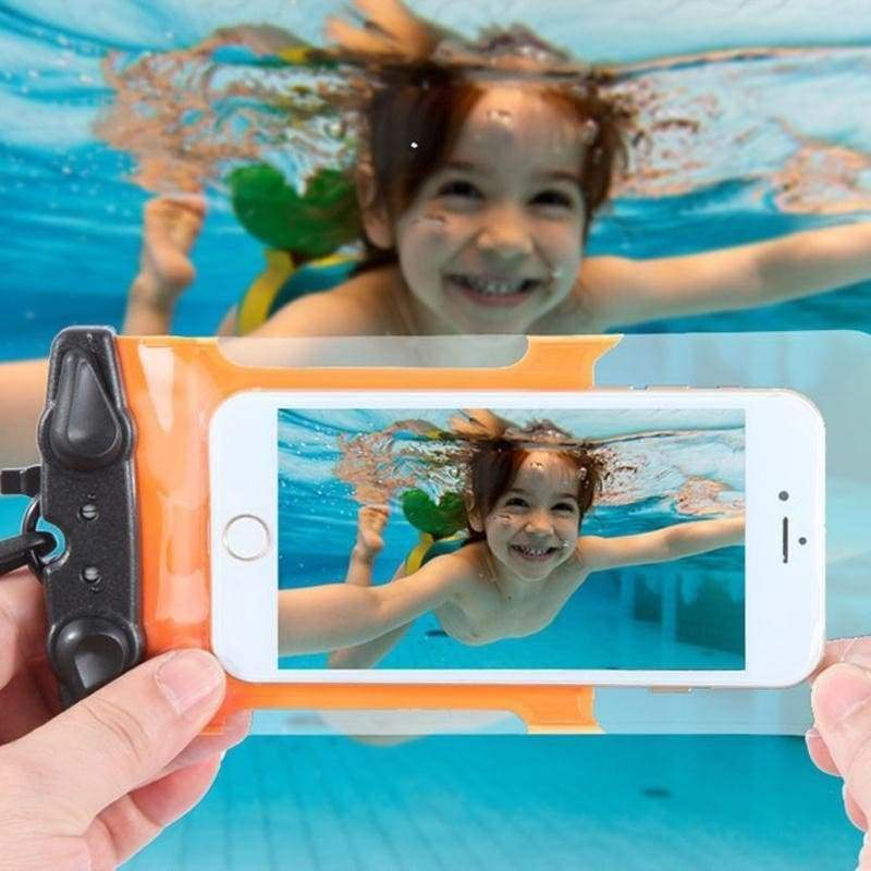 Waterproof Bag Underwater Dry Case Cover For Cell Phone Touchscreen