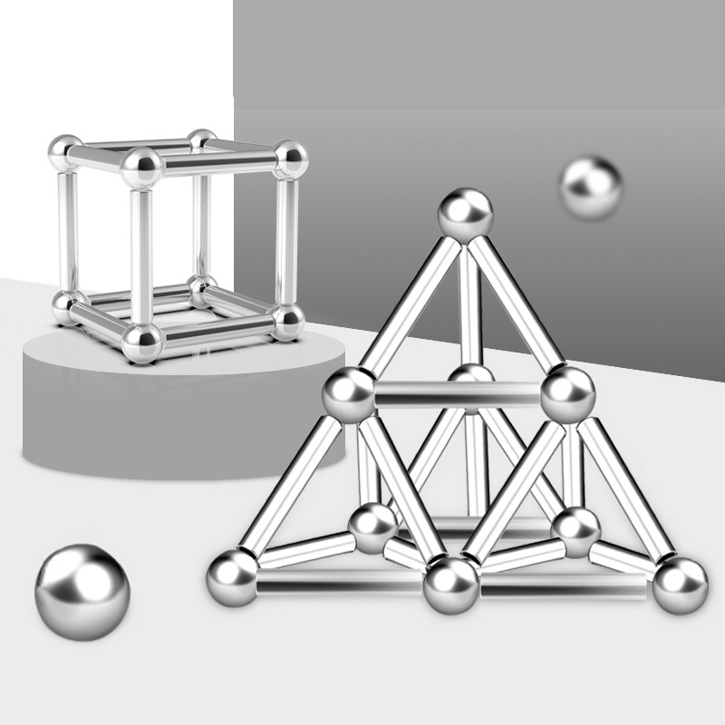 DIY Magnetic Sticks And Balls-40% OFF TODAY !!