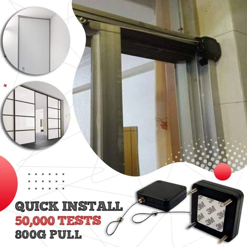 (New Year Sale- Save 50% OFF) Punch-free Automatic Sensor Door Closer