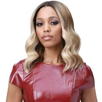 2020 Fashion Ombre Blonde Wigs Bad Lace Front Wigs