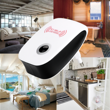 Enchanced eletronic ultrasonic mosquito insect repeller
