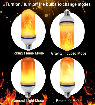 BUY 1 GET 1 FREE - Gravity Effect Fire LED Bulbs