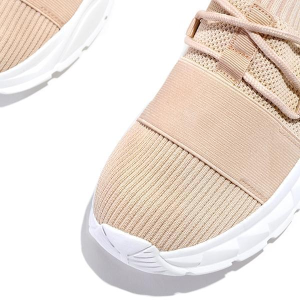 Faddishshoes Mesh breathable Lightly Padded Insole Lace-Up Sneakers