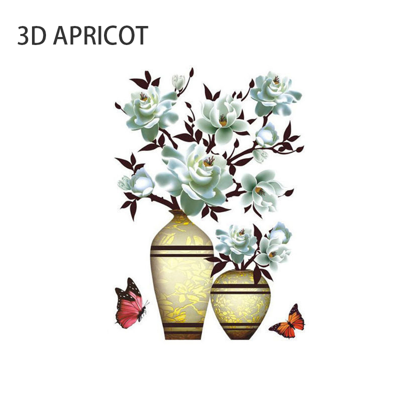 Vivid and Colorful 3D Wall Stickers