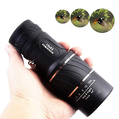 16 X 52 mm Monocular Lenses Night Vision Multi-coated BAK4 Camping / Hiking Hunting Trail Night Vision Aluminium Alloy 7005