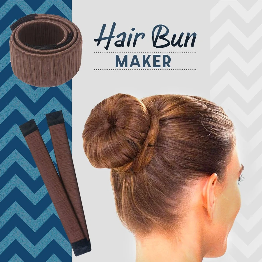 2 PCS/SET-Magic DIY Hair Bun Maker