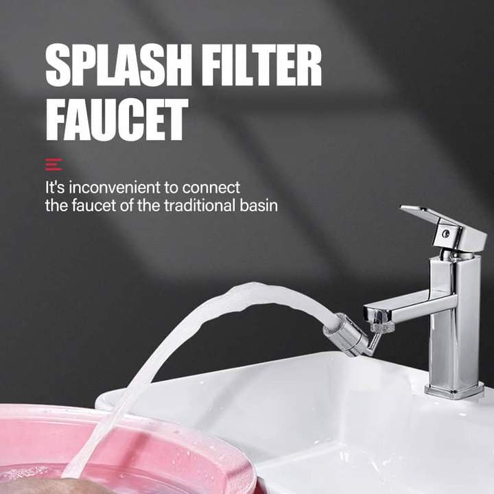 (New Year Sale  - SAVE 40% OFF & BUY 2 FREE SHIPPING) Universal Splash Filter Faucet
