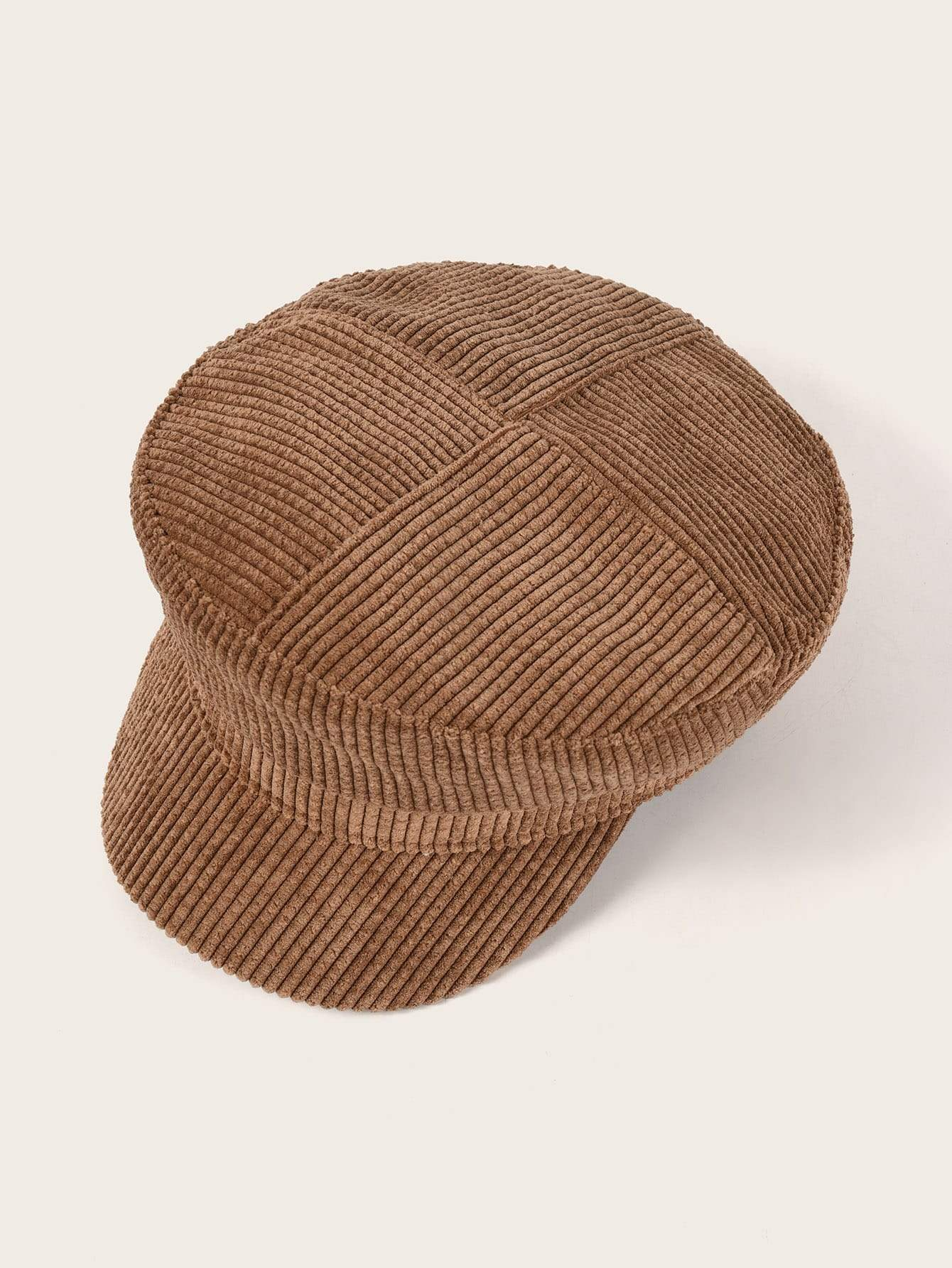 Plain Corduroy Baker boy Hat