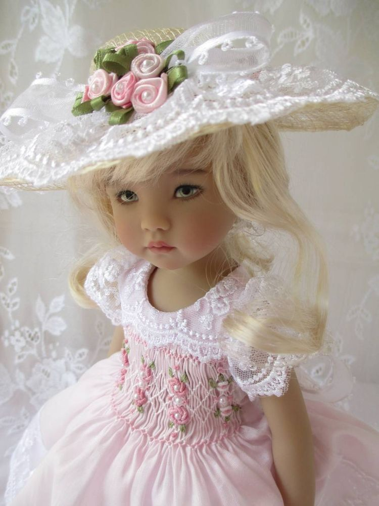 👧👧Little Darling Dianna Effner Doll with dress💝Lolita Style#15