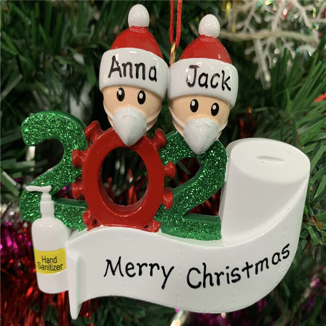 🌟Christmas Hot Sales🌟 Personalized Name Christmas Ornament