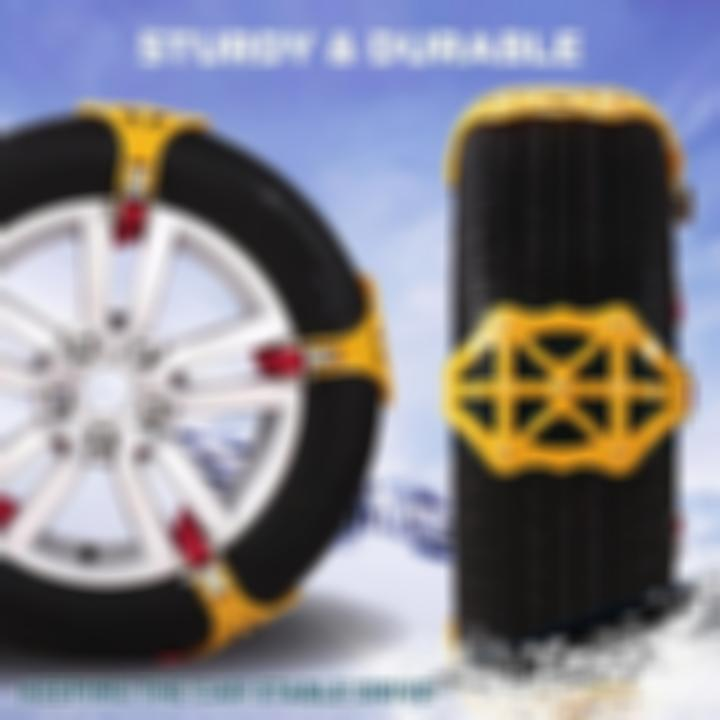 Car Tire Anti-Skid Snow Chains -buy 4 free shipping