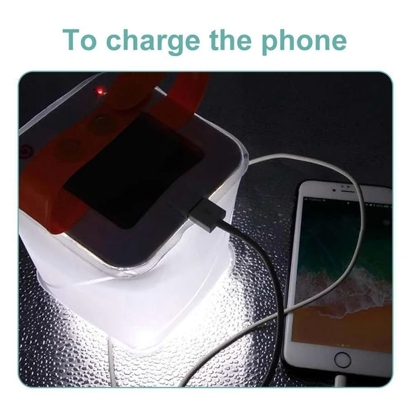 Hot Sales-Portable Outdoor Lanterns with Mobile Phone Charger-Buy 2 Free Shipping