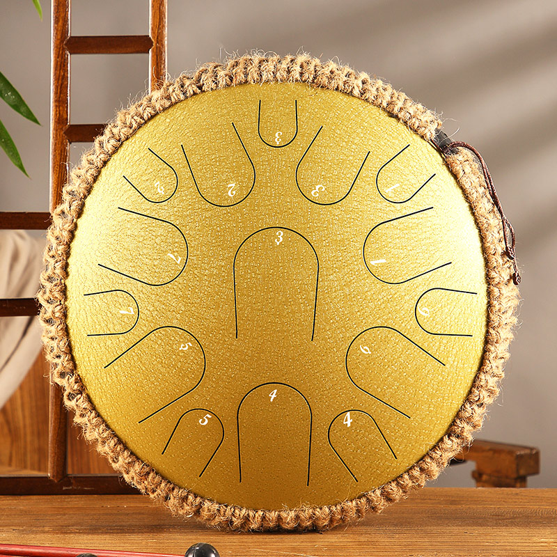 🔥 40% OFF Steel Tongue Drum - Free Shipping Worldwide