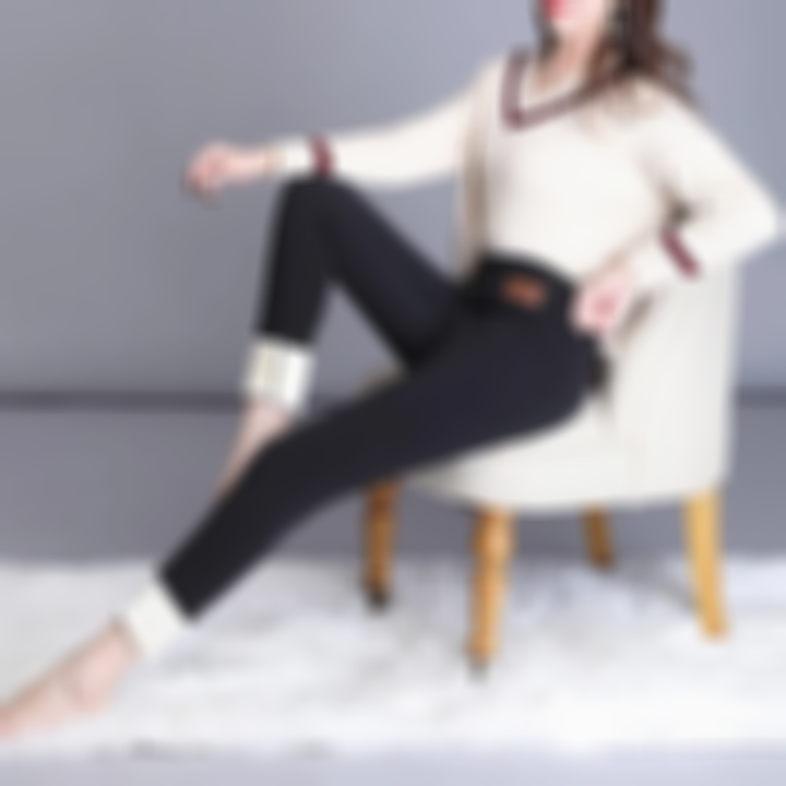 【Christmas sale】</br>Thickened Slim Cashmere Warm Pants