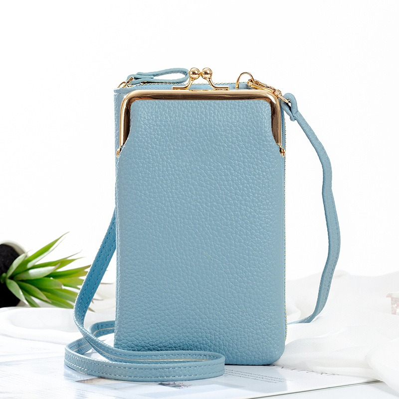 (🎅EARLY XMAS SALE - 50% OFF) Women Phone Bag Solid Crossbody Bag, Buy 2 Free Shipping