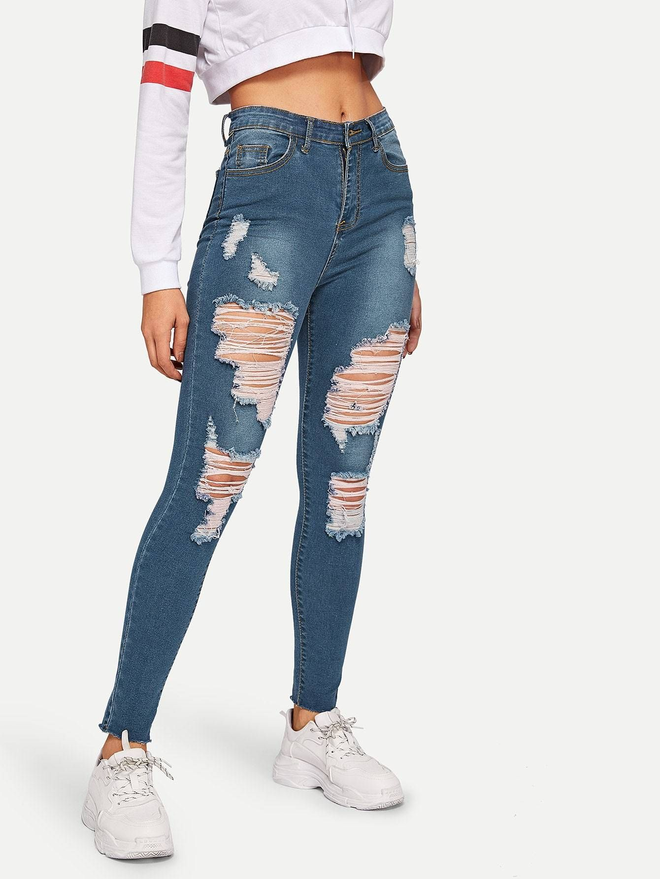 Best Women Jeans Faded Jeans Overall Jeans Palazzo Jeans