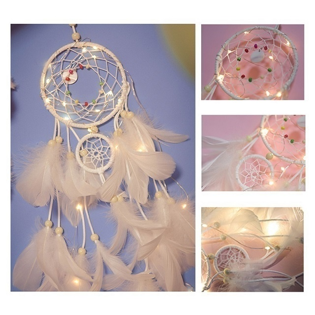 ✨Sweet Dream🧚‍♀Fairy Dream Catcher With Lights