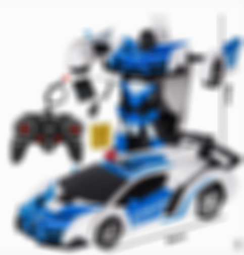 (Last Day Promotion)-Transformers Gesture Sensing RC Toy Car