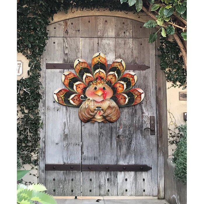 Turkey Wooden Freestanding Decor