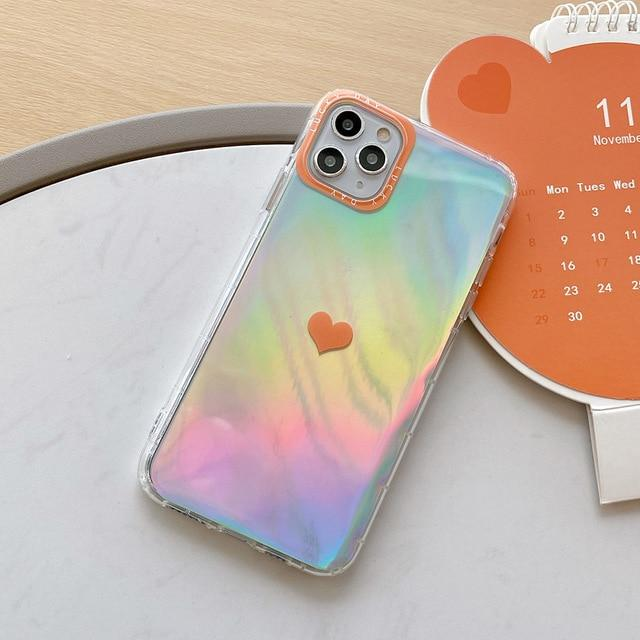 Colorful Love Heart Case